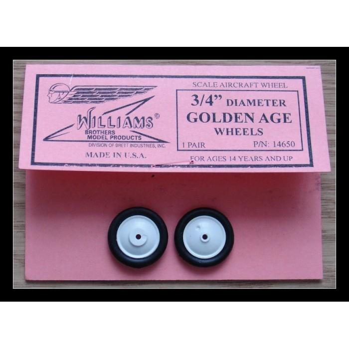 "Golden Age - 3/4""  (19,0 mm)"