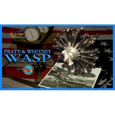 P&W Wasp Radial kit, 1/8 scale